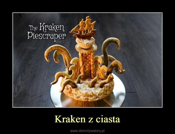 Kraken z ciasta –