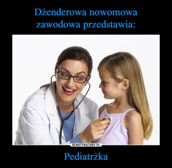 Pediatrżka –