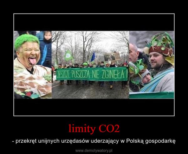 limity CO2 – - przekręt unijnych urzędasów uderzający w Polską gospodarkę