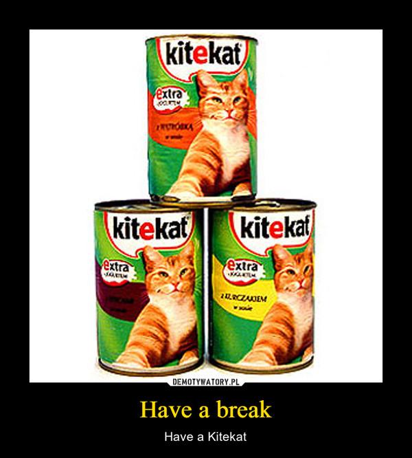 Have a break – Have a Kitekat
