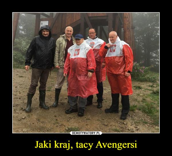 Jaki kraj, tacy Avengersi –