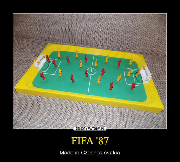 FIFA '87 – Made in Czechoslovakia