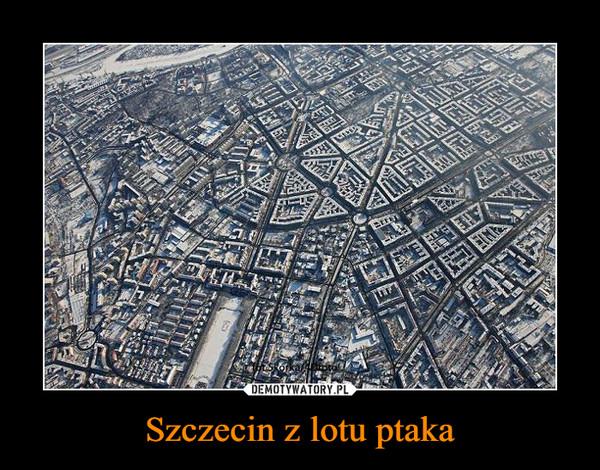 Szczecin z lotu ptaka –