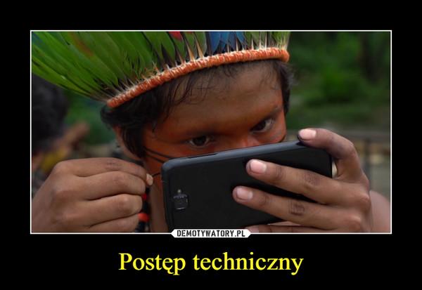 Postęp techniczny –