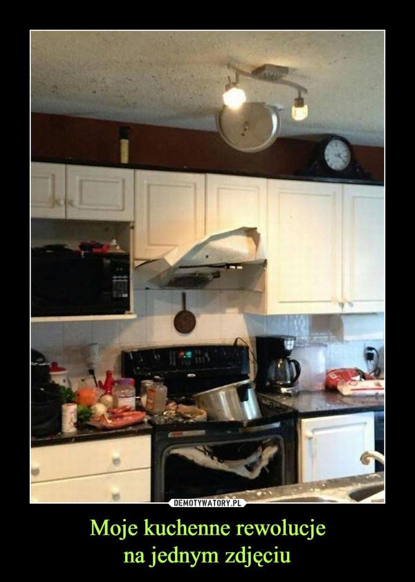 Moje kuchenne rewolucjena jednym zdjęciu –