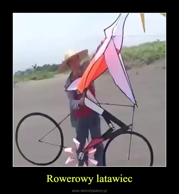 Rowerowy latawiec –