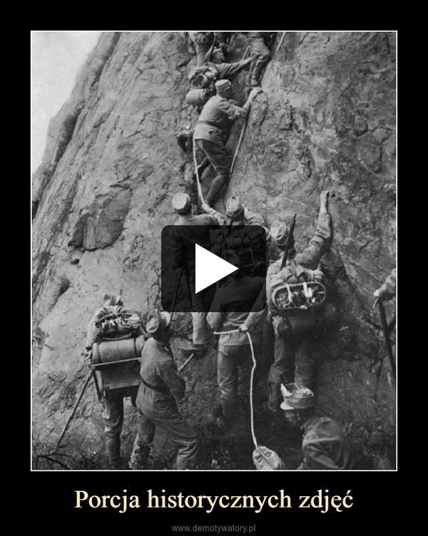 Porcja historycznych zdjęć –