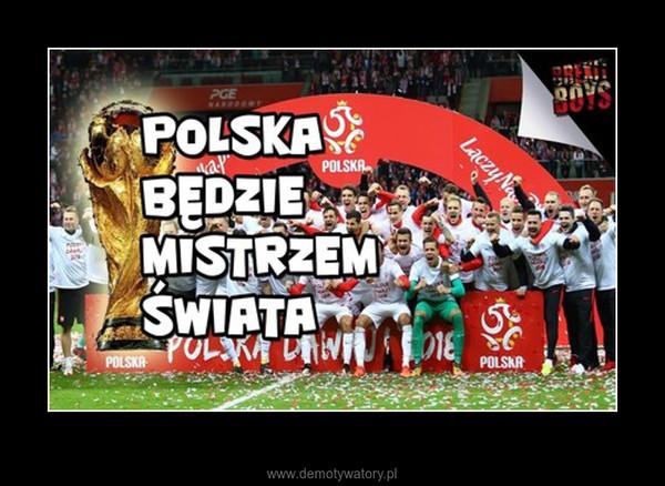 Hymn Reprezentacji Polski na Mundial 2018 – Polska będzie mistrzem świata !!