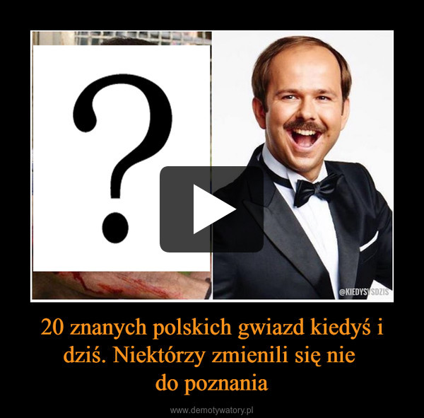 20 znanych polskich gwiazd kiedyś i dziś. Niektórzy zmienili się nie do poznania –