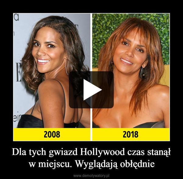 Dla tych gwiazd Hollywood czas stanął w miejscu. Wyglądają obłędnie –