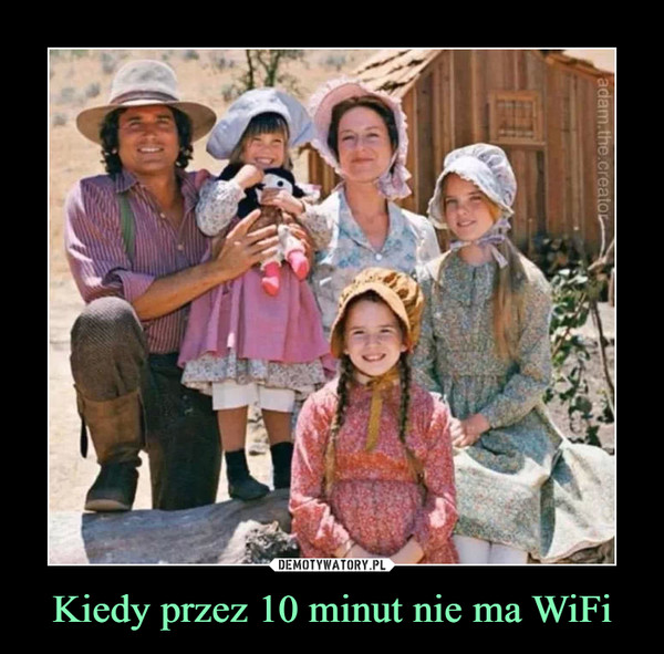 Kiedy przez 10 minut nie ma WiFi –