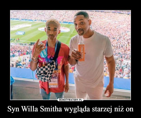Syn Willa Smitha wygląda starzej niż on –