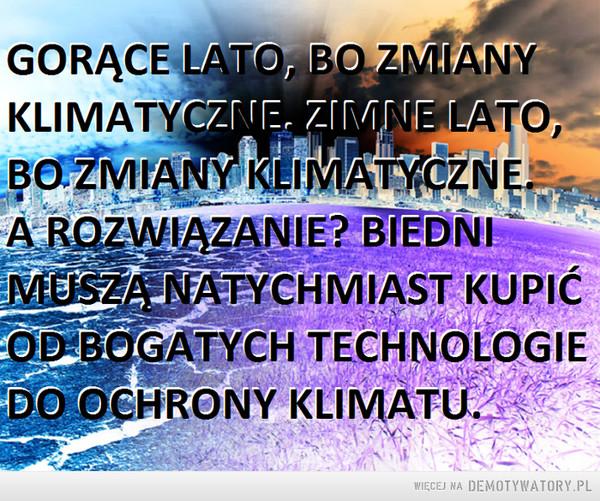 Zmiany klimatyczne –