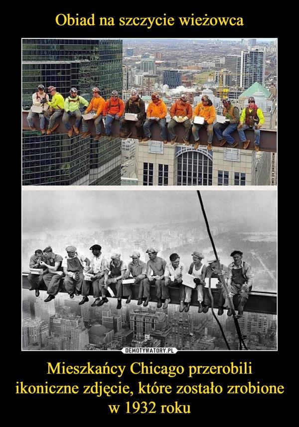 Mieszkańcy Chicago przerobili ikoniczne zdjęcie, które zostało zrobione w 1932 roku –
