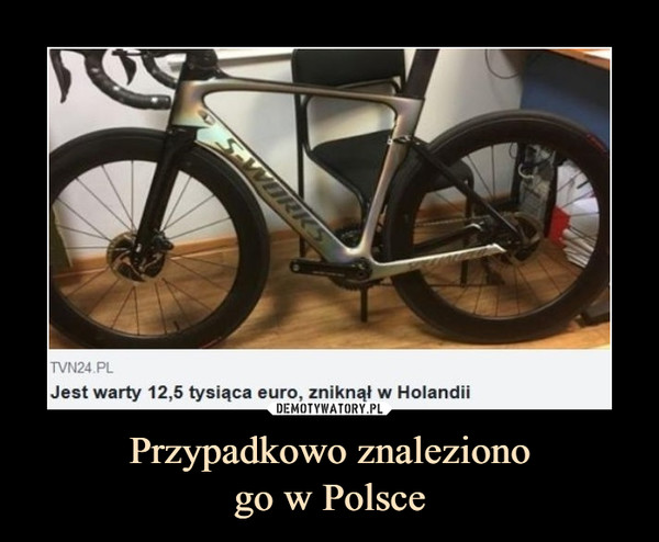 Przypadkowo znalezionogo w Polsce –  Jest warty 12,5 tysiąca euro, zniknął w Holandii
