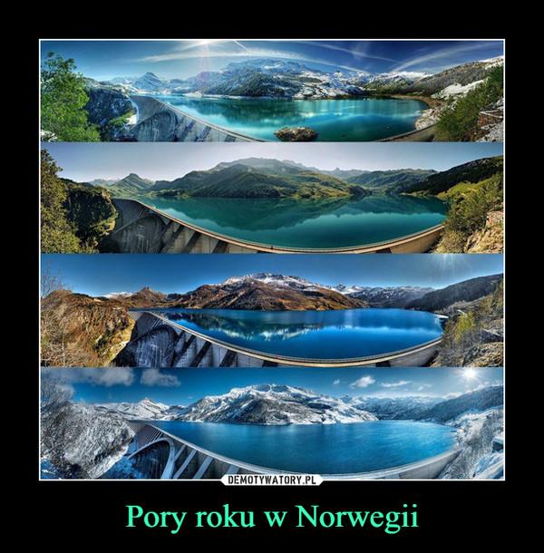 Pory roku w Norwegii –