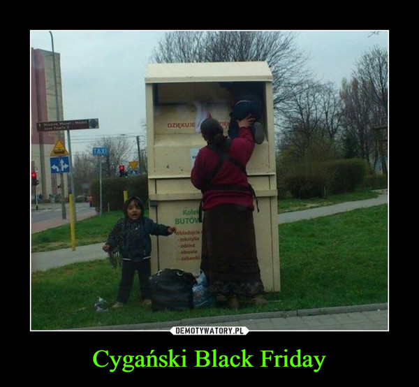 Cygański Black Friday –