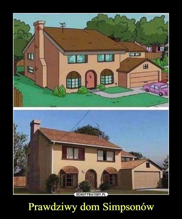 Prawdziwy dom Simpsonów –