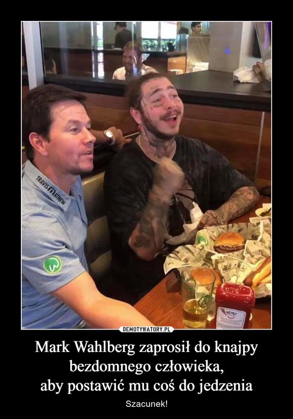 Mark Wahlberg zaprosił do knajpybezdomnego człowieka,aby postawić mu coś do jedzenia – Szacunek!