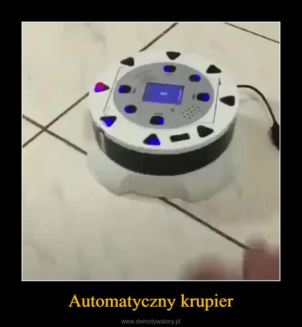 Automatyczny krupier –