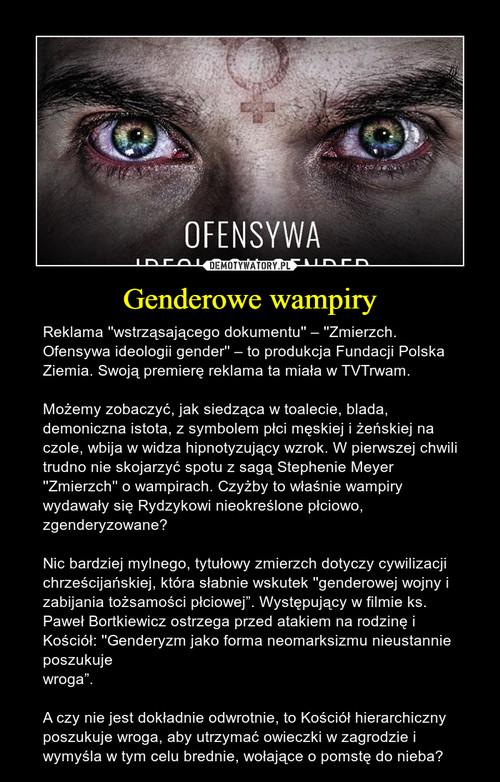Genderowe wampiry