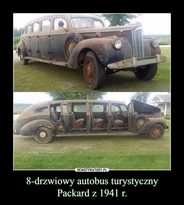 8-drzwiowy autobus turystycznyPackard z 1941 r. –
