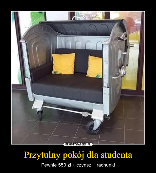 Przytulny pokój dla studenta – Pewnie 550 zł + czynsz + rachunki