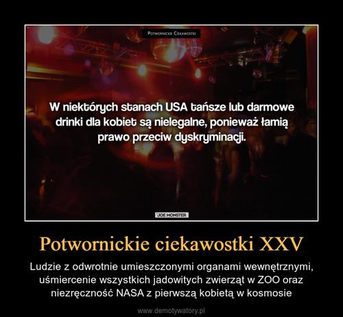 Potwornickie ciekawostki XXV