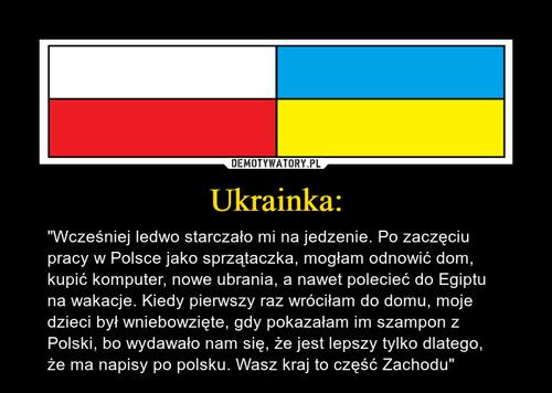 Ukrainka: