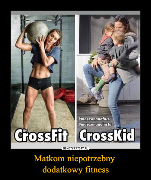 Matkom niepotrzebny  dodatkowy fitness