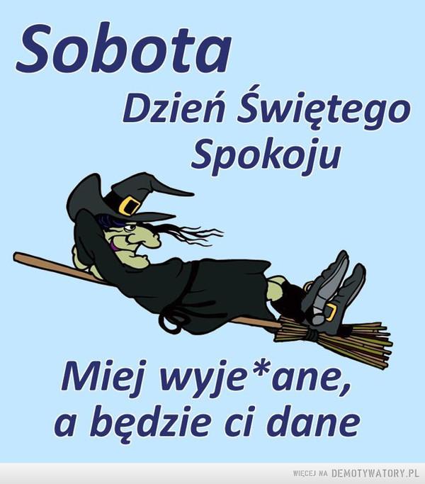Sobota –