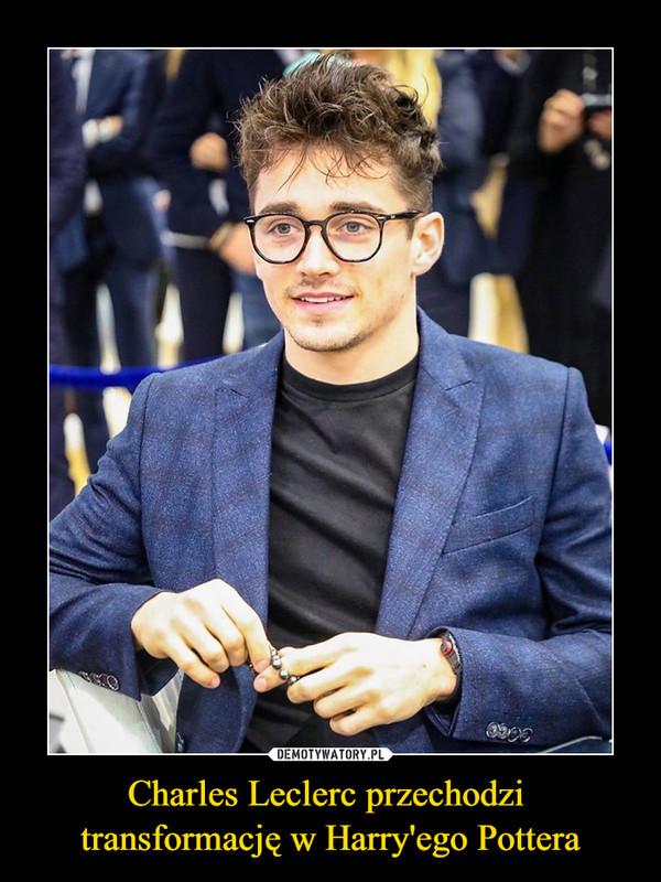 Charles Leclerc przechodzi transformację w Harry'ego Pottera –
