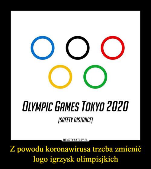 Z powodu koronawirusa trzeba zmienić logo igrzysk olimpisjkich