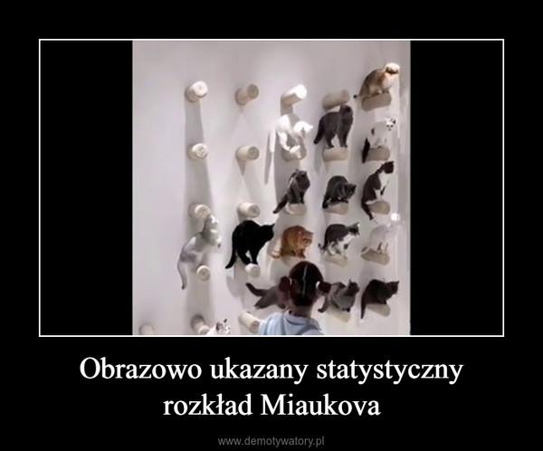 Obrazowo ukazany statystycznyrozkład Miaukova –