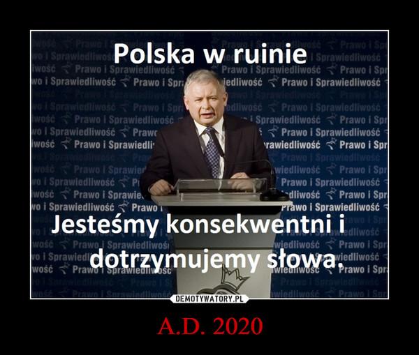 A.D. 2020 –