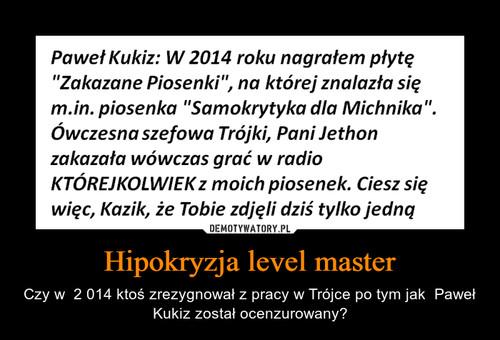 Hipokryzja level master
