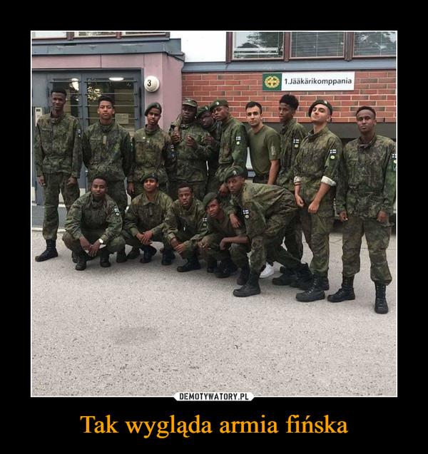 Tak wygląda armia fińska