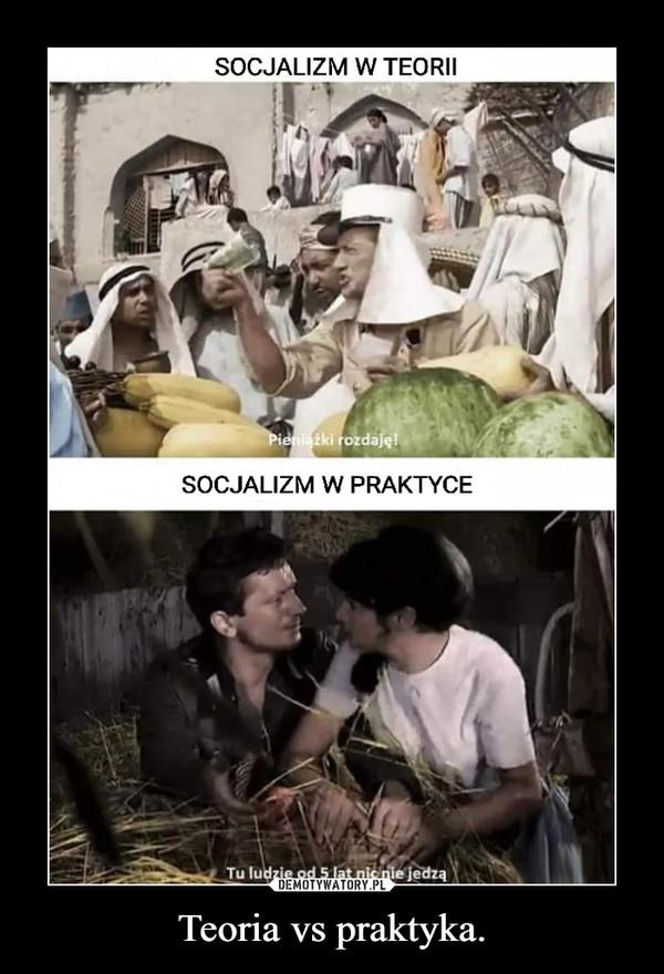 Teoria vs praktyka. –