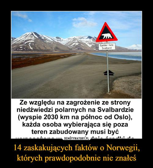 14 zaskakujących faktów o Norwegii, których prawdopodobnie nie znałeś