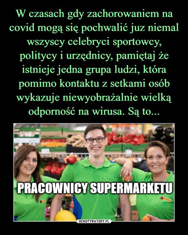 –  PRACOWICY SUPERMARKETU