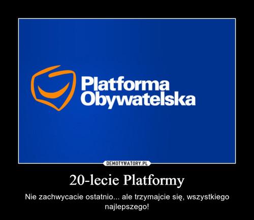 20-lecie Platformy