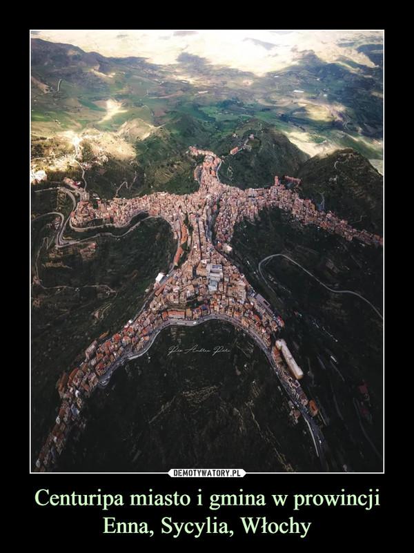 Centuripa miasto i gmina w prowincji Enna, Sycylia, Włochy –