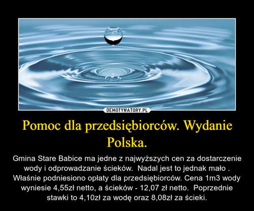 Pomoc dla przedsiębiorców. Wydanie Polska.