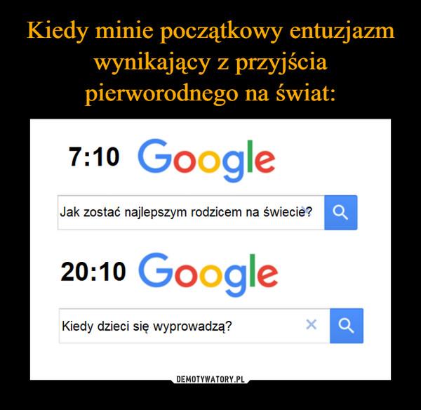 –  7:10 GoogleJak zostać najlepszym rodzicem na świecie? Q20:10 GoogleKiedy dzieci się wyprowadzą?