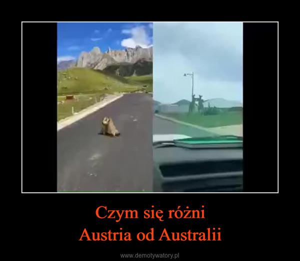 Czym się różniAustria od Australii –