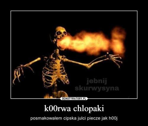 k00rwa chlopaki
