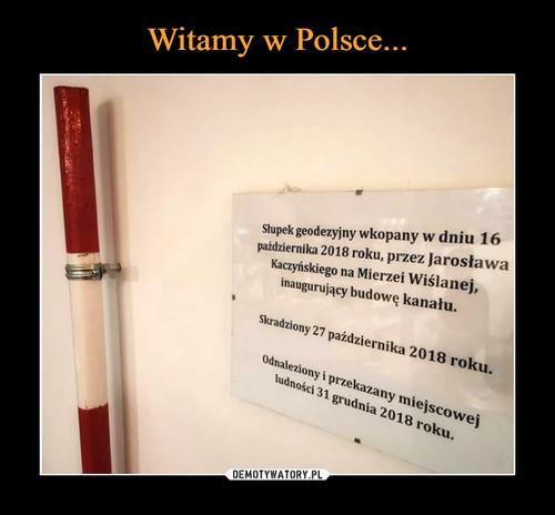 Witamy w Polsce...