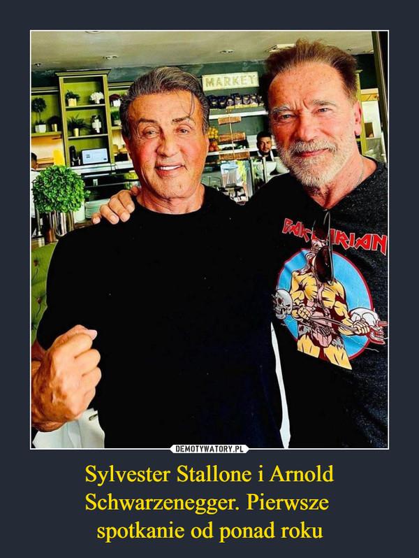 Sylvester Stallone i Arnold Schwarzenegger. Pierwsze spotkanie od ponad roku –