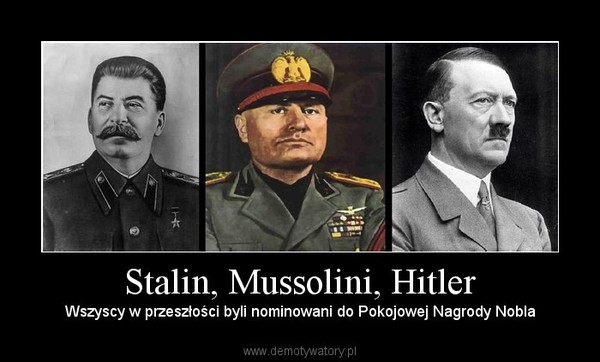stalin mussolini and hitler essay Adolf hitler and joseph stalin were the most recognisable and known totalitarian leaders in europe they both had a great impact on the world's history adolf hitler was the fuhrer of the iii reich and a leader of the nazi party – the nsdap.