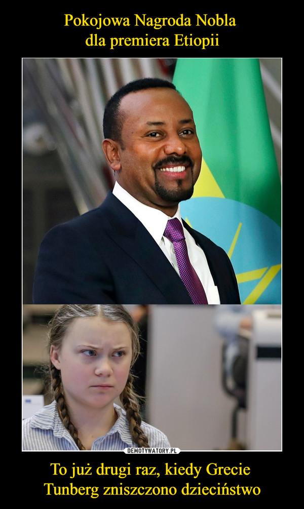 Pokojowa Nagroda Nobla dla premiera Etiopii To już drugi raz, kiedy Grecie Tunberg zniszczono dzieciństwo